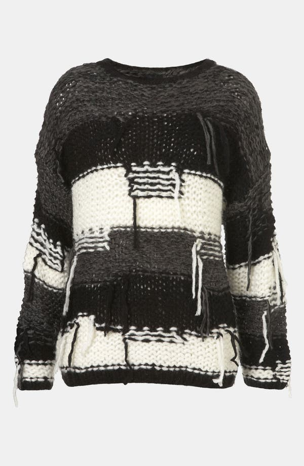 Alternate Image 1 Selected - Topshop Threadbare Sweater
