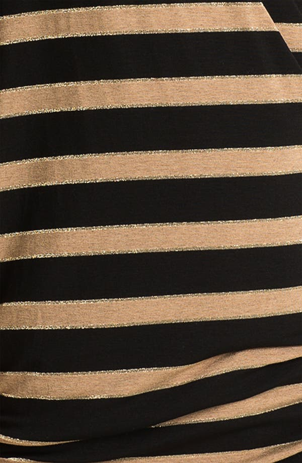 Alternate Image 3  - Ella Moss 'Astoria' Stripe Slouchy Surplice Top