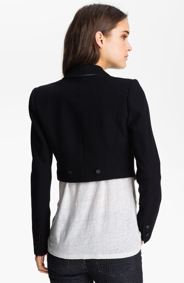 Alternate Image 4  - Juicy Couture Convertible Tuxedo Tail Jacket