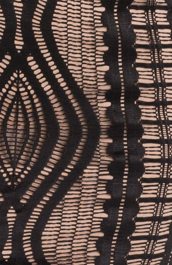 Alternate Image 3  - BCBGMAXAZRIA Long Sleeve Lace Sheath Dress