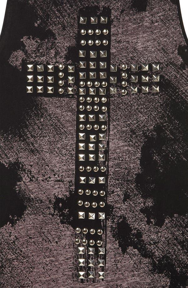 Alternate Image 3  - Topshop 'Studded Cross' Midi Tank Dress