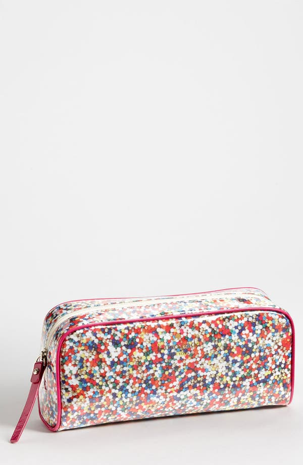 Main Image - kate spade new york 'sprinkles - small henrietta' cosmetics case