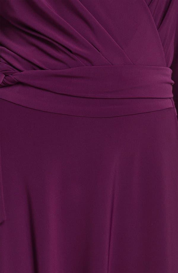 Alternate Image 3  - Alex & Ava Long Sleeve Jersey Wrap Dress