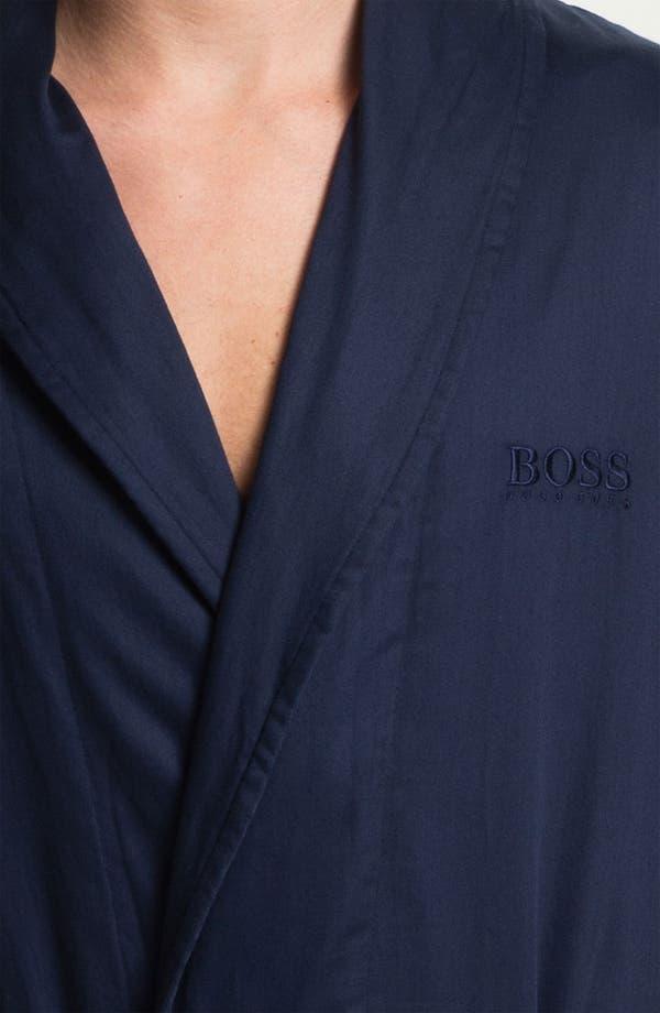 Alternate Image 3  - BOSS Black Shawl Collar 'Innovation 6' Robe