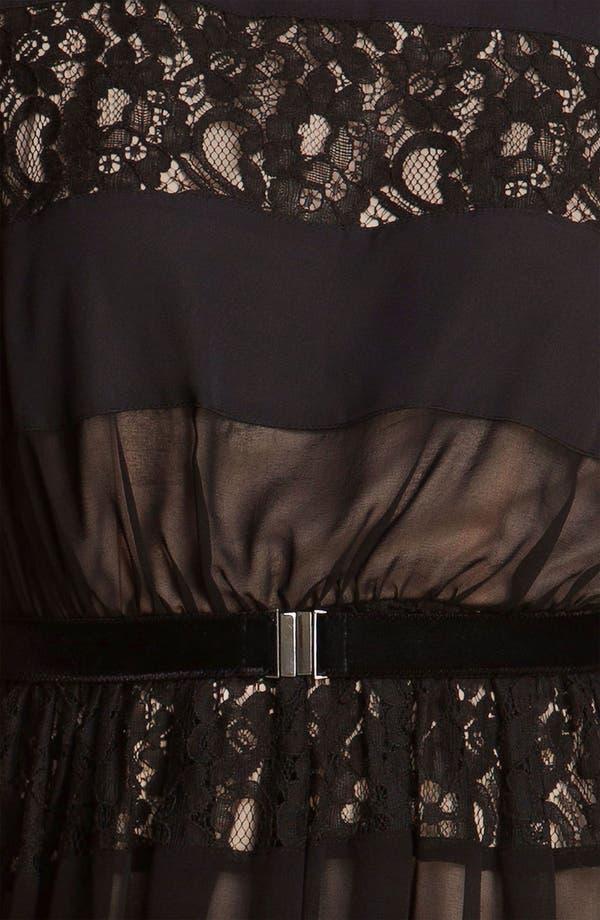 Alternate Image 3  - Jessica Simpson Lace Inset Fit & Flare Dress