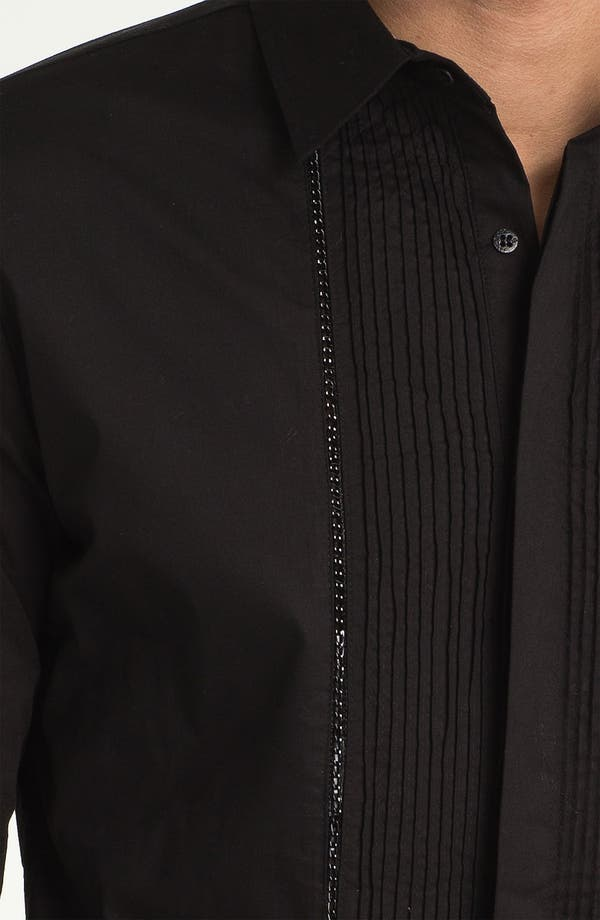 Alternate Image 3  - Paul Black Pleated Woven Shirt