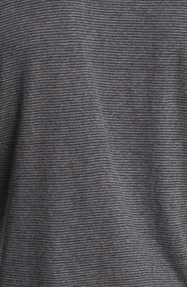 Alternate Image 3  - Obey Microstripe Slim Fit Henley T-Shirt