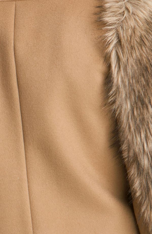Alternate Image 3  - MICHAEL Michael Kors Faux Coyote Fur Jacket