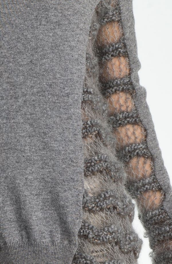Alternate Image 3  - Skaist-Taylor Drop Stitch Sweater