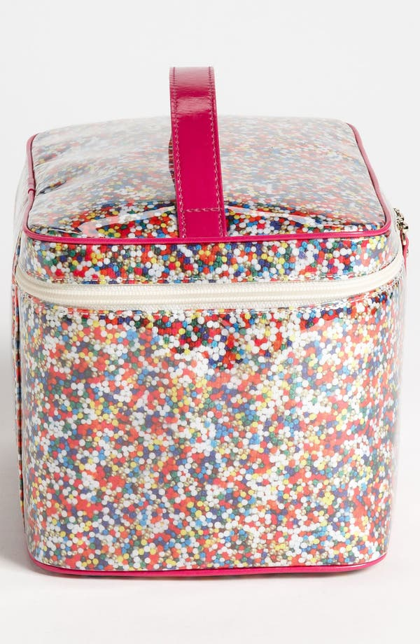 Alternate Image 2  - kate spade new york 'sprinkles - large natalie' cosmetics case set