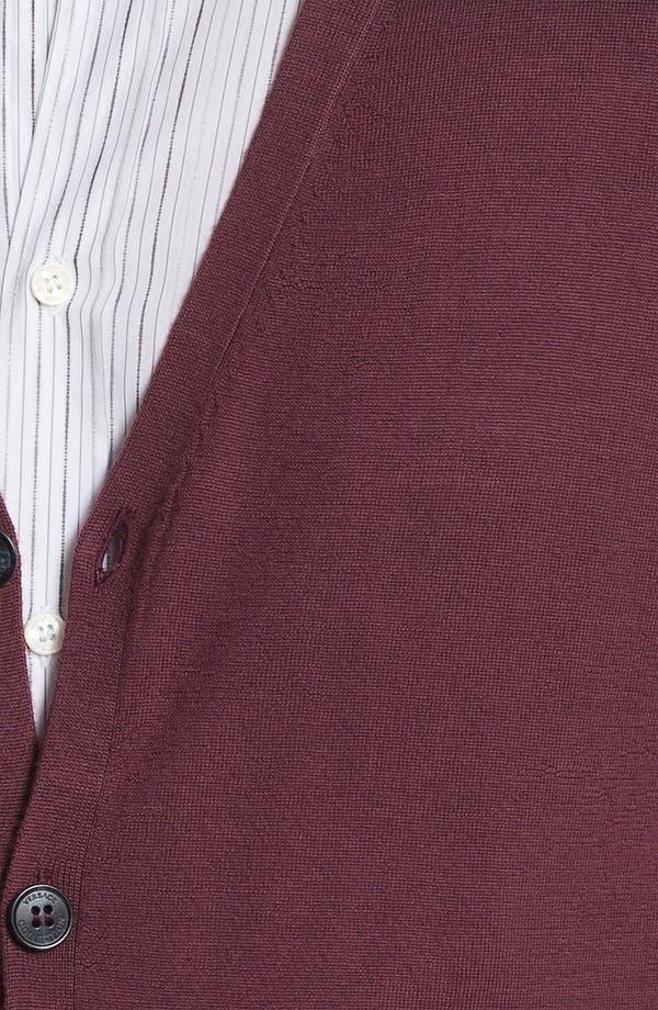 Alternate Image 3  - Versace Wool & Silk Button Cardigan