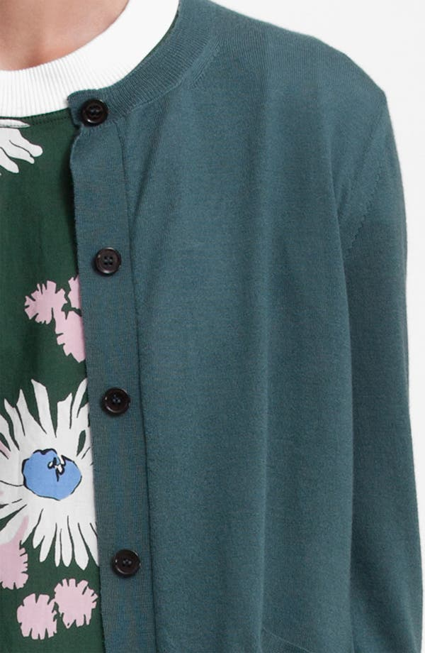 Alternate Image 6  - Marni Pocket Cashmere & Silk Cardigan