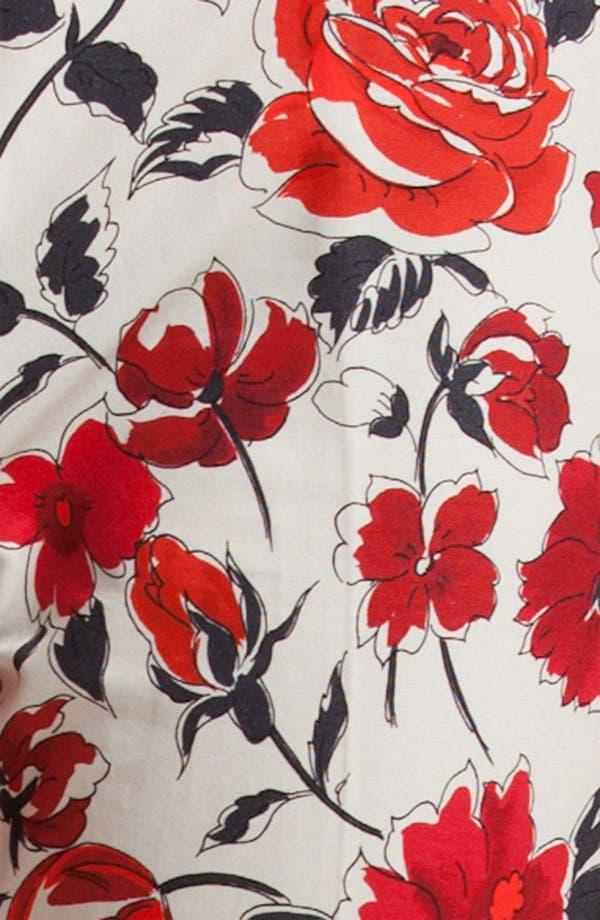 Alternate Image 3  - Jil Sander Navy Garden Print Skinny Crop Pants