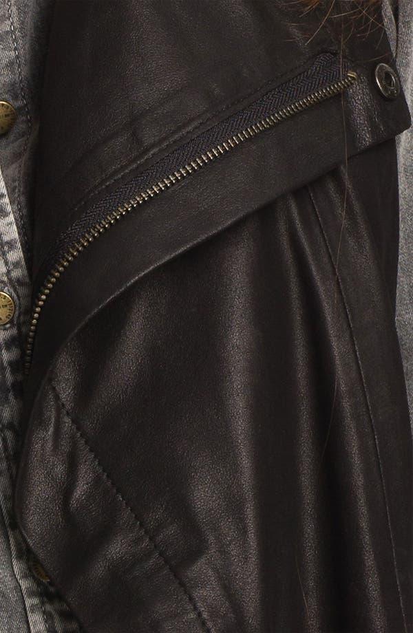 Alternate Image 3  - Kenna-T Leather Vest