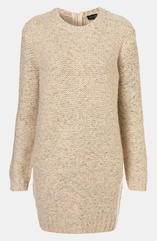 Main Image - Topshop Zip Back Sweater