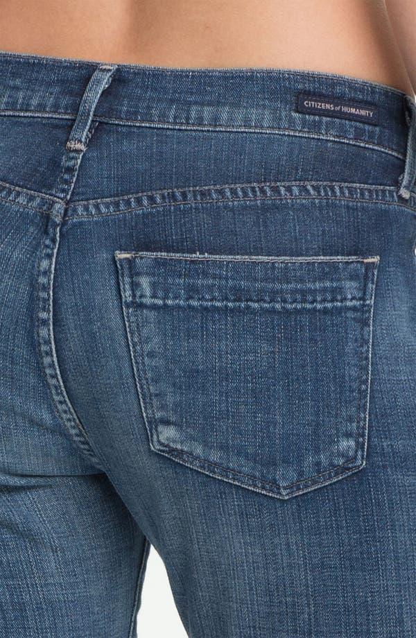 Alternate Image 3  - Citizens of Humanity 'Dani' Crop Straight Leg Jeans (Wedgewood)