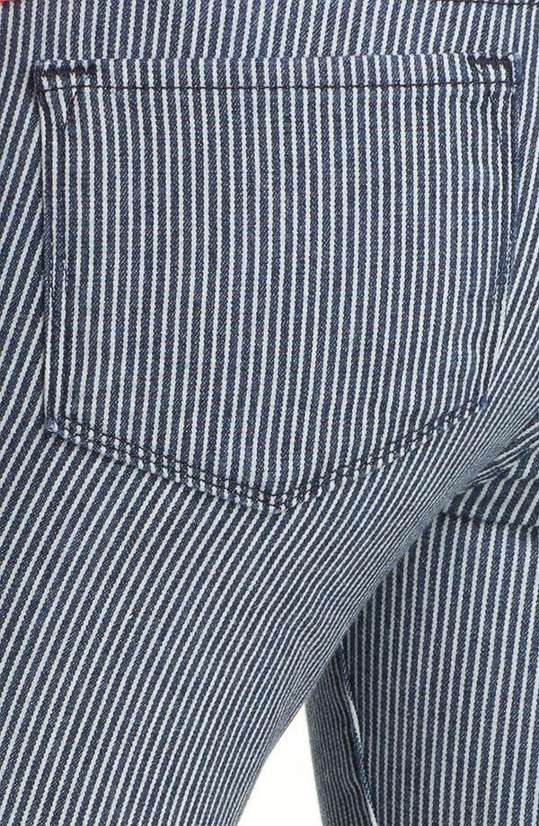 Alternate Image 3  - Blue Essence Railroad Stripe Skinny Jeans (Nordstrom Exclusive)