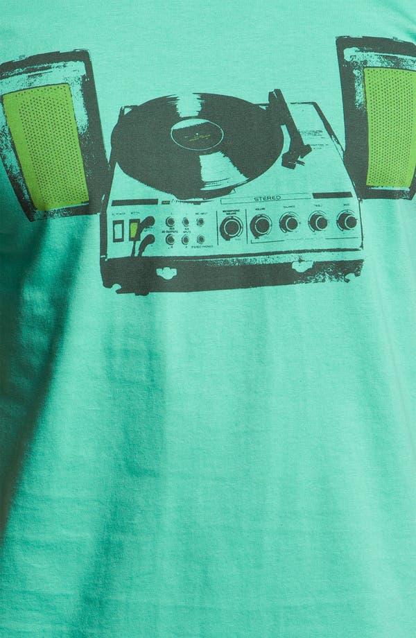 Alternate Image 3  - The Poster List 'Vinyl Paradise' Graphic T-Shirt