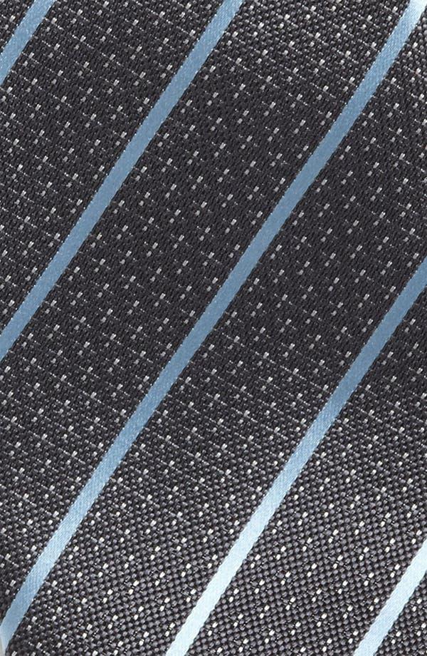 Alternate Image 2  - Yves Saint Laurent Stripe Silk Woven Tie
