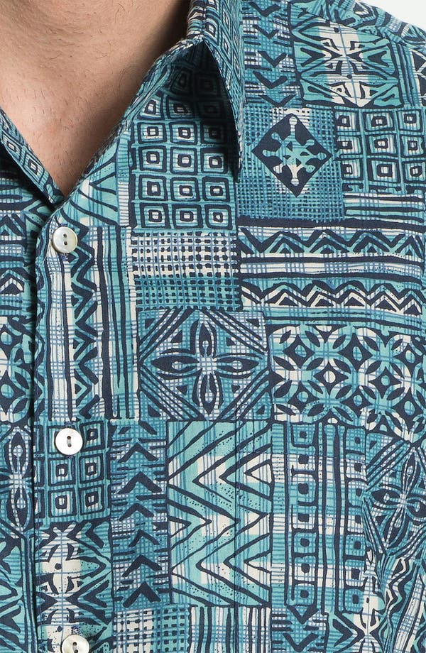 Alternate Image 3  - Tori Richard 'Gridlock' Cotton Campshirt