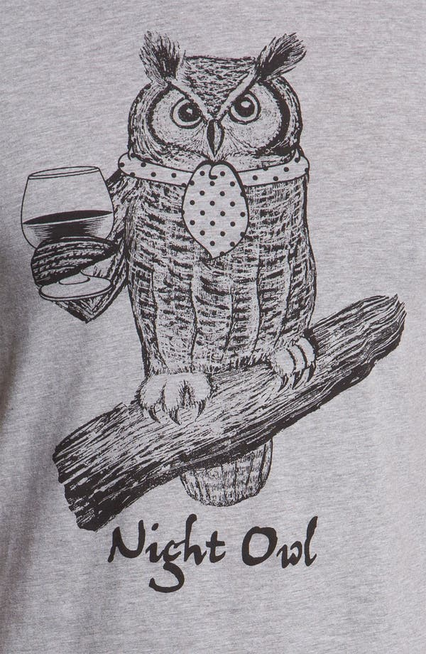 Alternate Image 3  - Headline Shirts 'Night Owl' Graphic T-Shirt