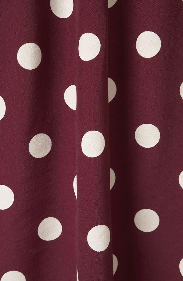 Alternate Image 3  - Topshop Polka Dot Skater Dress