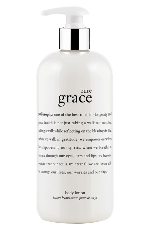 Alternate Image 1 Selected - philosophy 'pure grace' perfumed body lotion