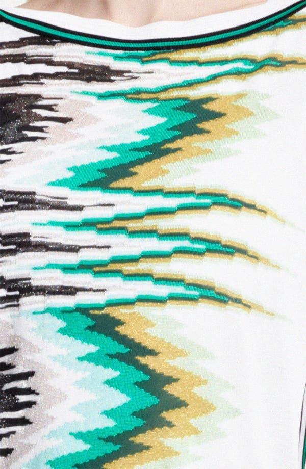 Alternate Image 3  - Missoni Zigzag Embroidered Tunic