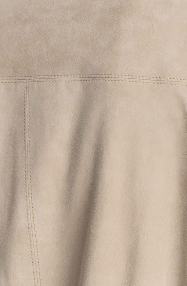 Alternate Image 3  - Theory 'Yudita' Leather Bomber Jacket