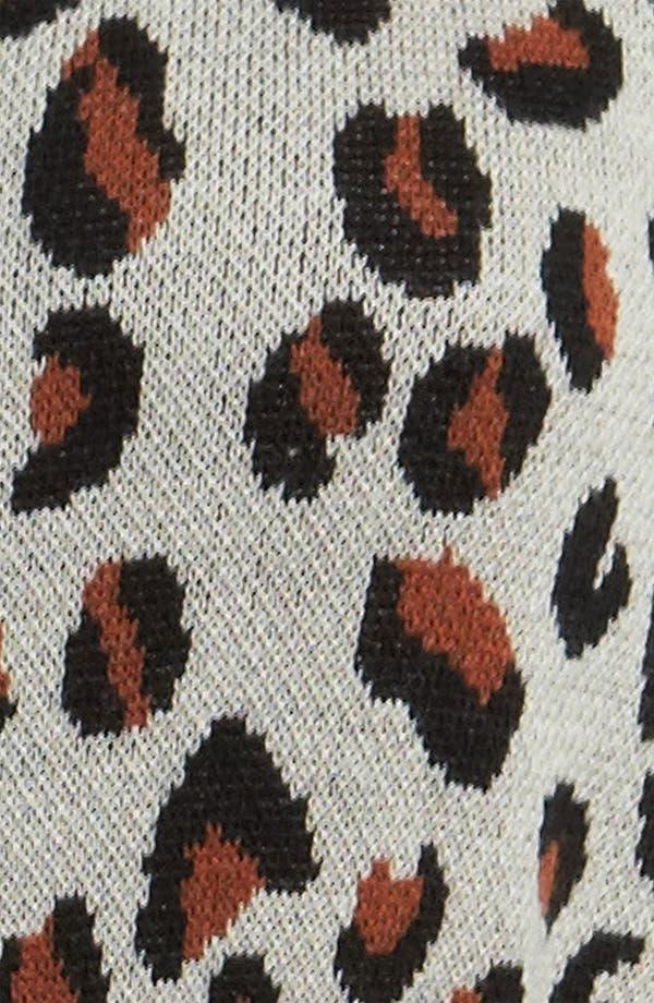 Alternate Image 3  - Viva Vena! Cheetah Print Sweater Dress