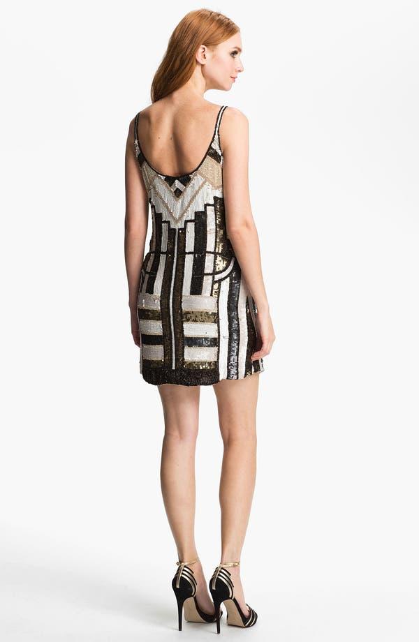 Alternate Image 2  - Parker 'Haden' Embellished Silk Shift Dress