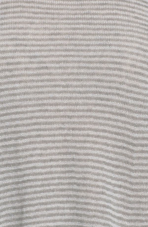 Alternate Image 3  - Eileen Fisher Stripe Delave Linen Top