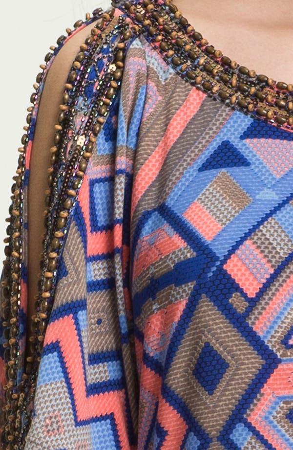 Alternate Image 3  - Donna Morgan 'Becca' Embellished Print Shift Dress