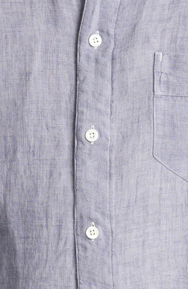 Alternate Image 3  - Billy Reid 'Walland' Linen Shirt