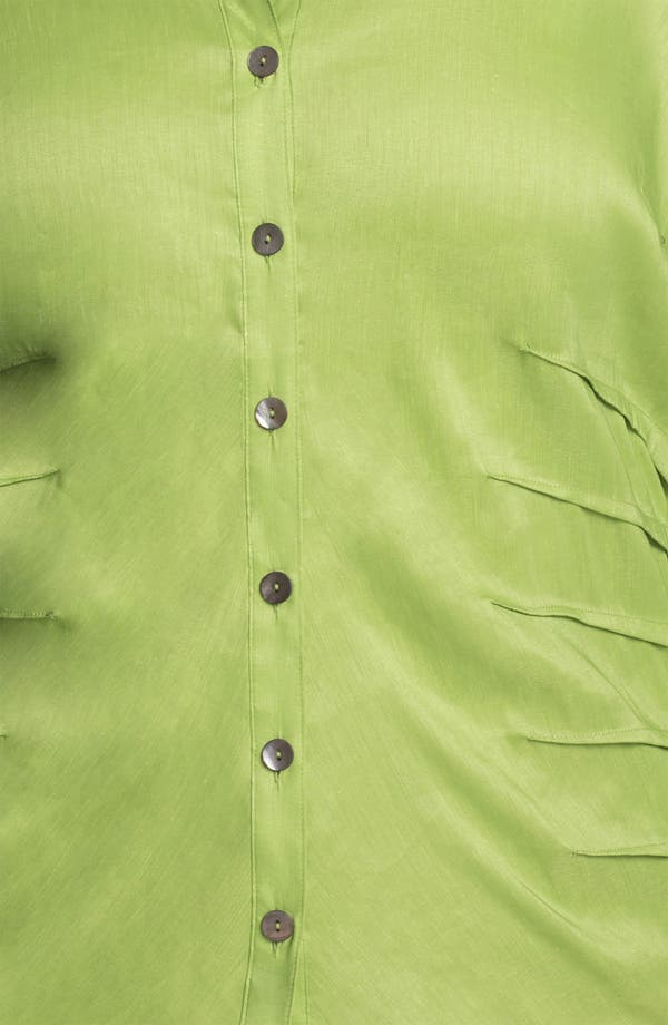 Alternate Image 3  - Nic + Zoe Button Up Shirt (Plus Size)