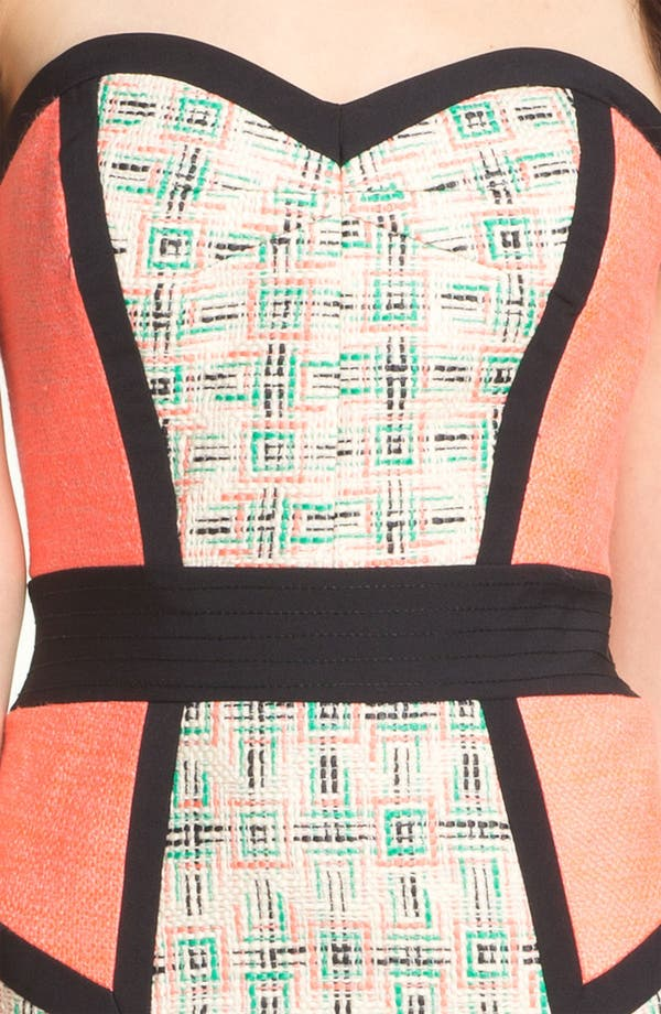 Alternate Image 3  - Milly 'Dianna' Woven Sheath Dress