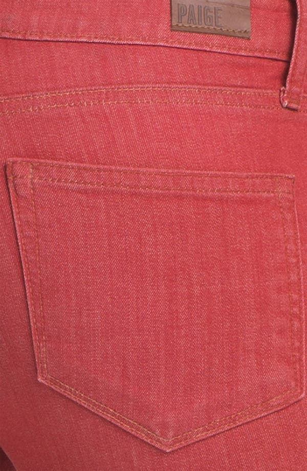 Alternate Image 3  - Paige Denim 'Verdugo' Skinny Stretch Denim Jeans (Vintage Red)