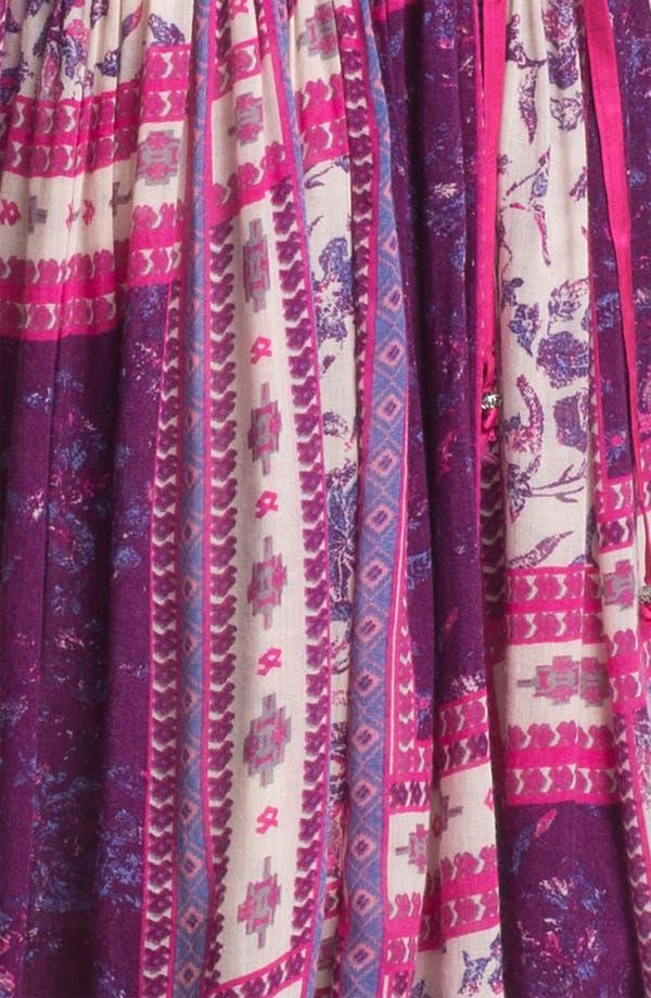 Alternate Image 3  - Free People 'Rose Garden' Print Peasant Dress