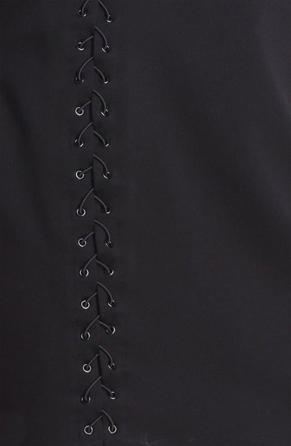 Alternate Image 3  - Halston Heritage One Shoulder Sheath Dress
