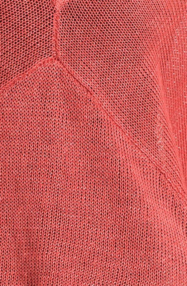 Alternate Image 3  - HELMUT Helmut Lang Linen Sweater
