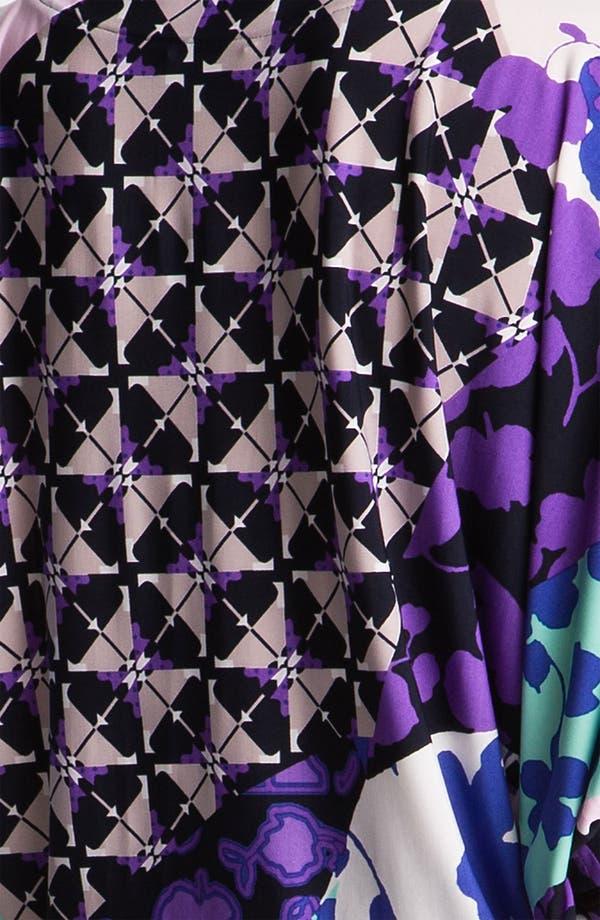 Alternate Image 3  - Donna Morgan Print Matte Jersey Blouson Dress