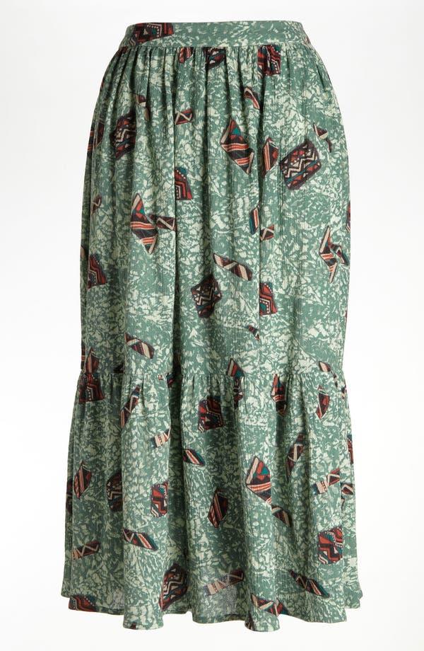 Main Image - Viva Vena! 'Mind Reader' Tiered Midi Skirt