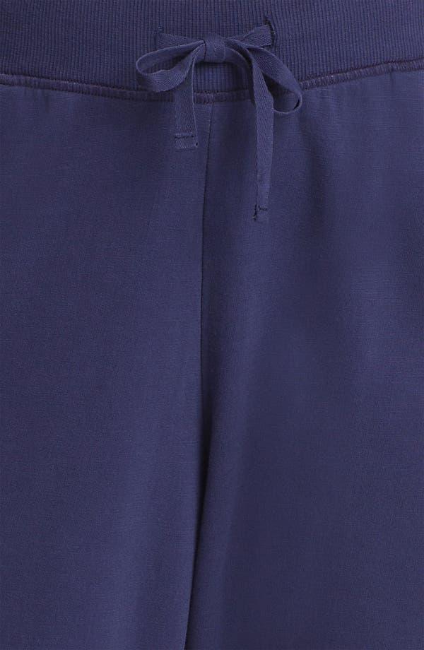 Alternate Image 3  - Sejour Cuff Terry Pants (Plus Size)