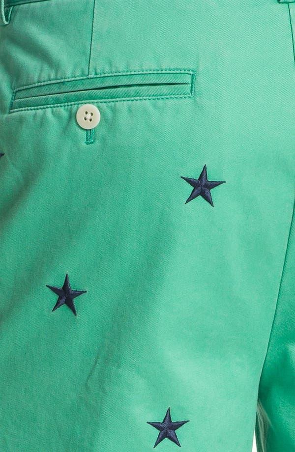 Alternate Image 5  - Vineyard Vines Regular Fit Embroidered Shorts