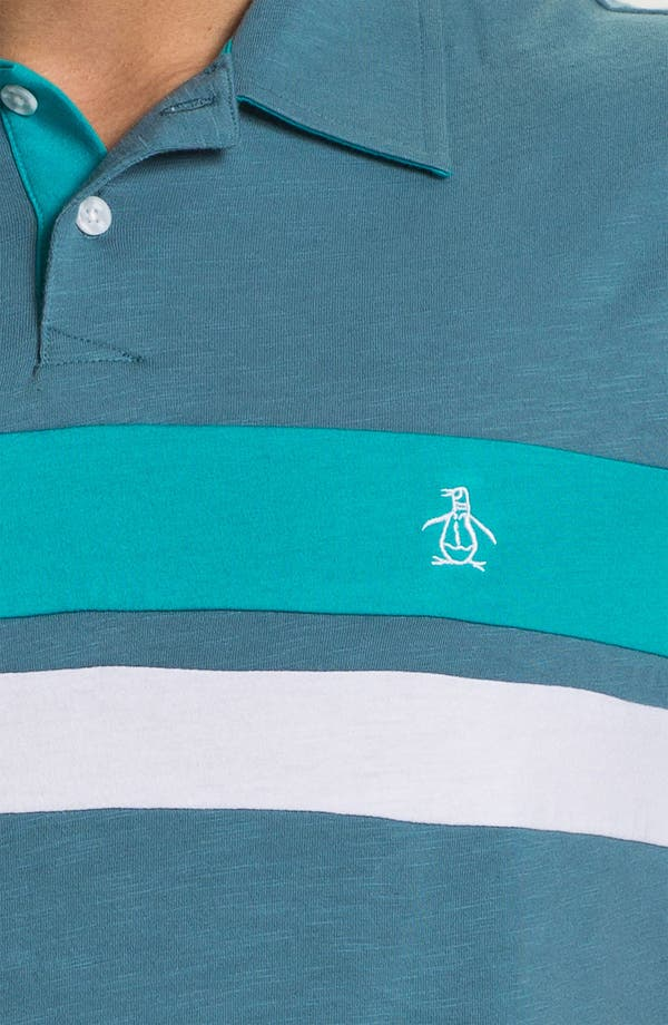 Alternate Image 3  - Original Penguin Colorblock Polo
