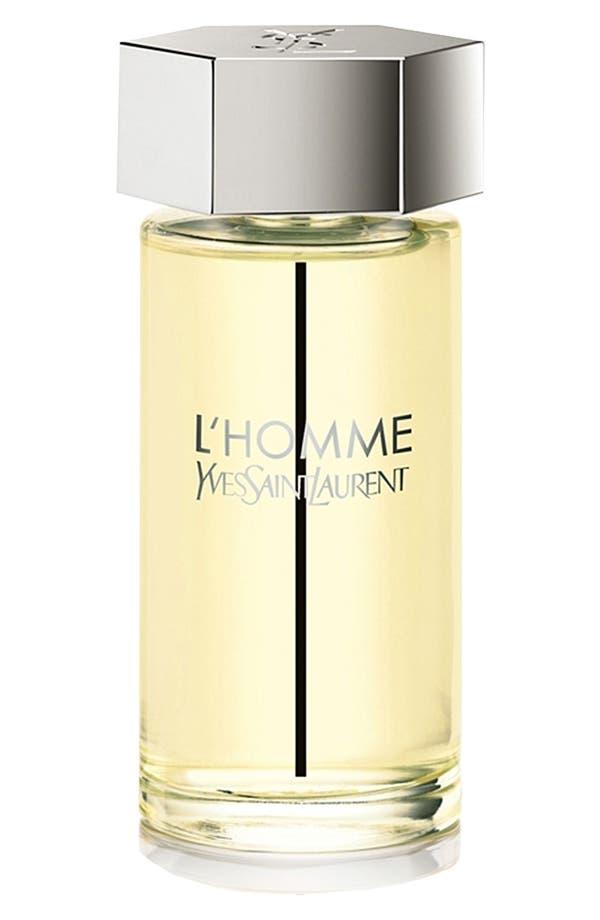 Main Image - Yves Saint Laurent 'L'Homme' Eau de Toilette (6.7 oz.)