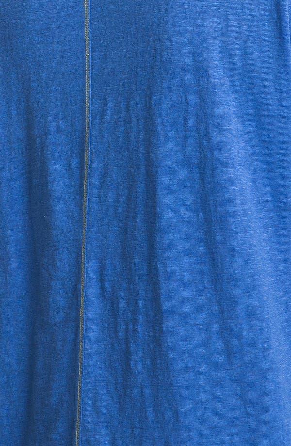 Alternate Image 3  - Eileen Fisher Cap Sleeve Linen Tee (Petite)