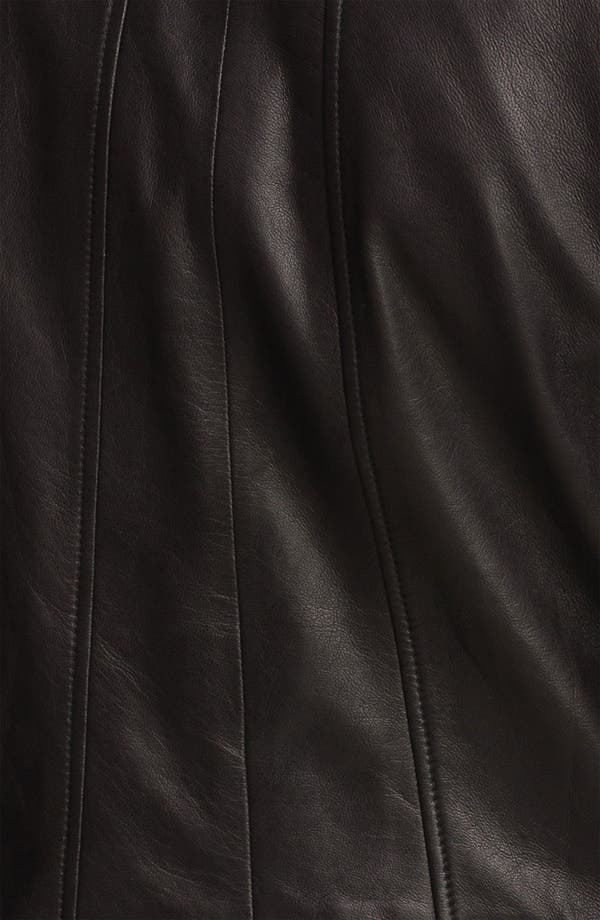 Alternate Image 3  - Trouvé Double Zip Leather Jacket