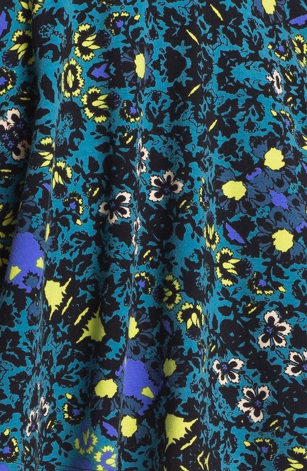 Alternate Image 3  - Lily White Textured Skater Skirt (Juniors) (Online Only)