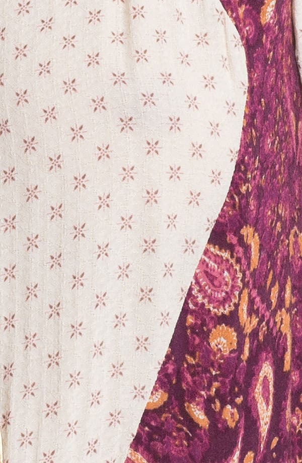 Alternate Image 3  - Free People 'Dandelion' Twin Print Peplum Top